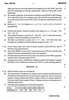 Question Paper - Mathematical and Statistical Techniques 2014 - 2015 - B.Com. - 1st Year (FYBcom) - University of Mumbai