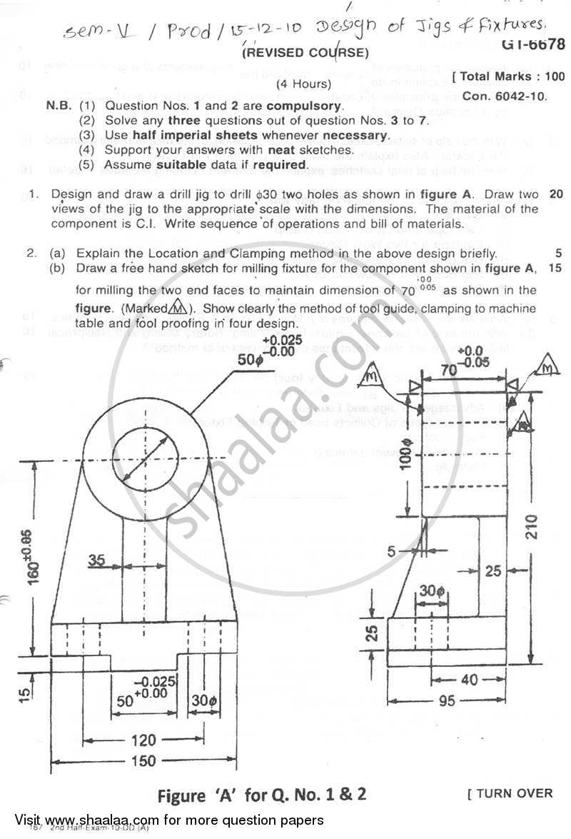 Question Paper Be Production Engineering Semester 5 Te Third Year