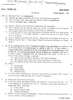 Question Paper - Thermodynamics 2009 - 2010 - B.E. - Semester 3 (SE Second Year) - University of Mumbai
