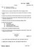 Question Paper - Environment and Society 2014 - 2015 - M.A. - Part 2 - University of Mumbai