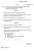Question Paper - Sociology of Development 2014 - 2015 - M.A. - Part 1 - University of Mumbai