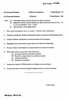 Question Paper - Sociology of Social Movements 2014 - 2015 - M.A. - Part 2 - University of Mumbai