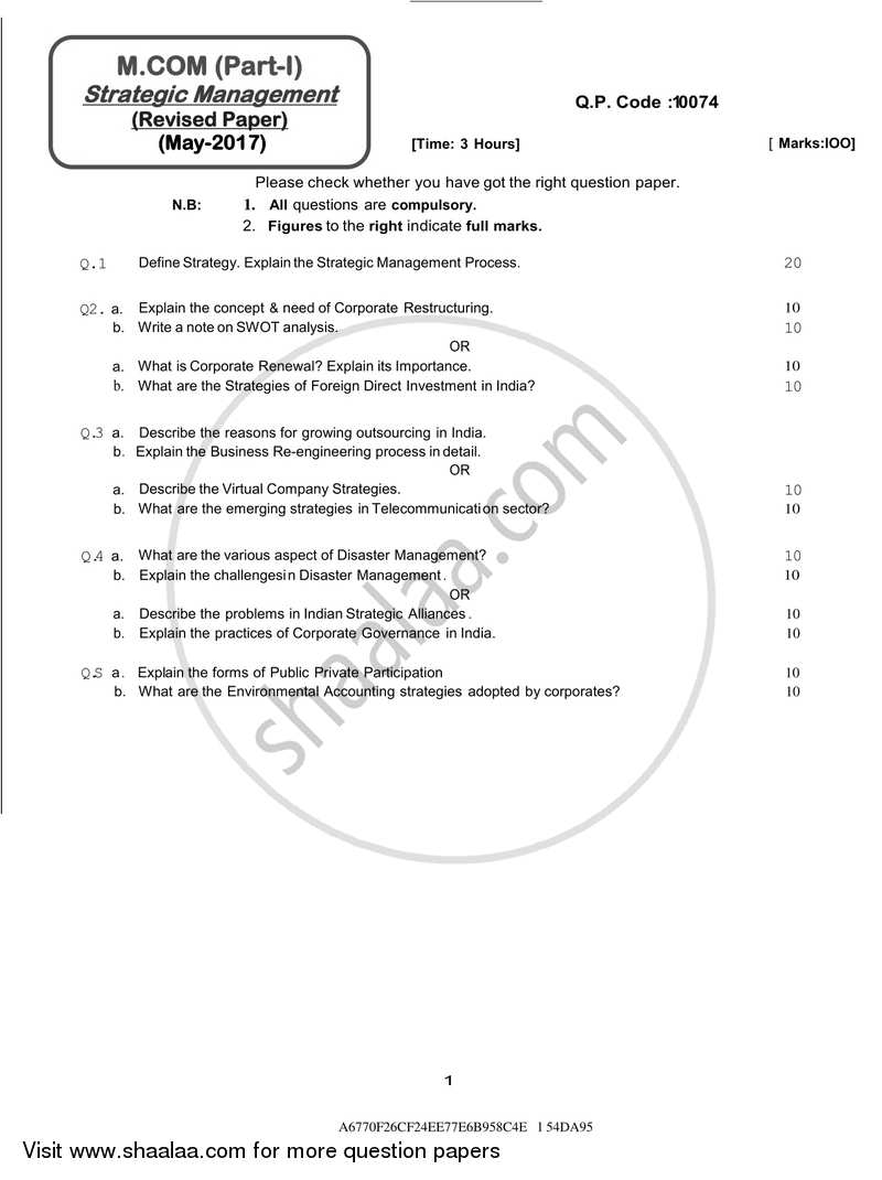 papers on management