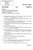 Question Paper - Analysis - 2 2014 - 2015 - M.Sc. - Part 2 - University of Mumbai