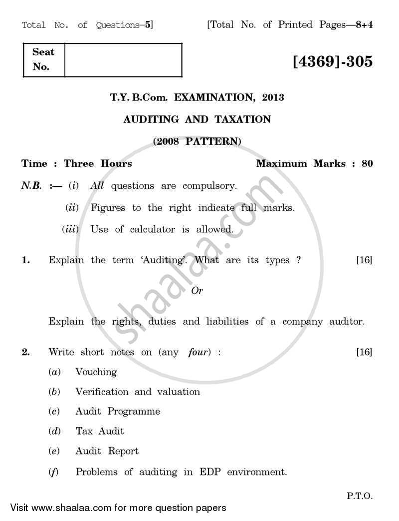 management accounting paper parttern tybcom 2012