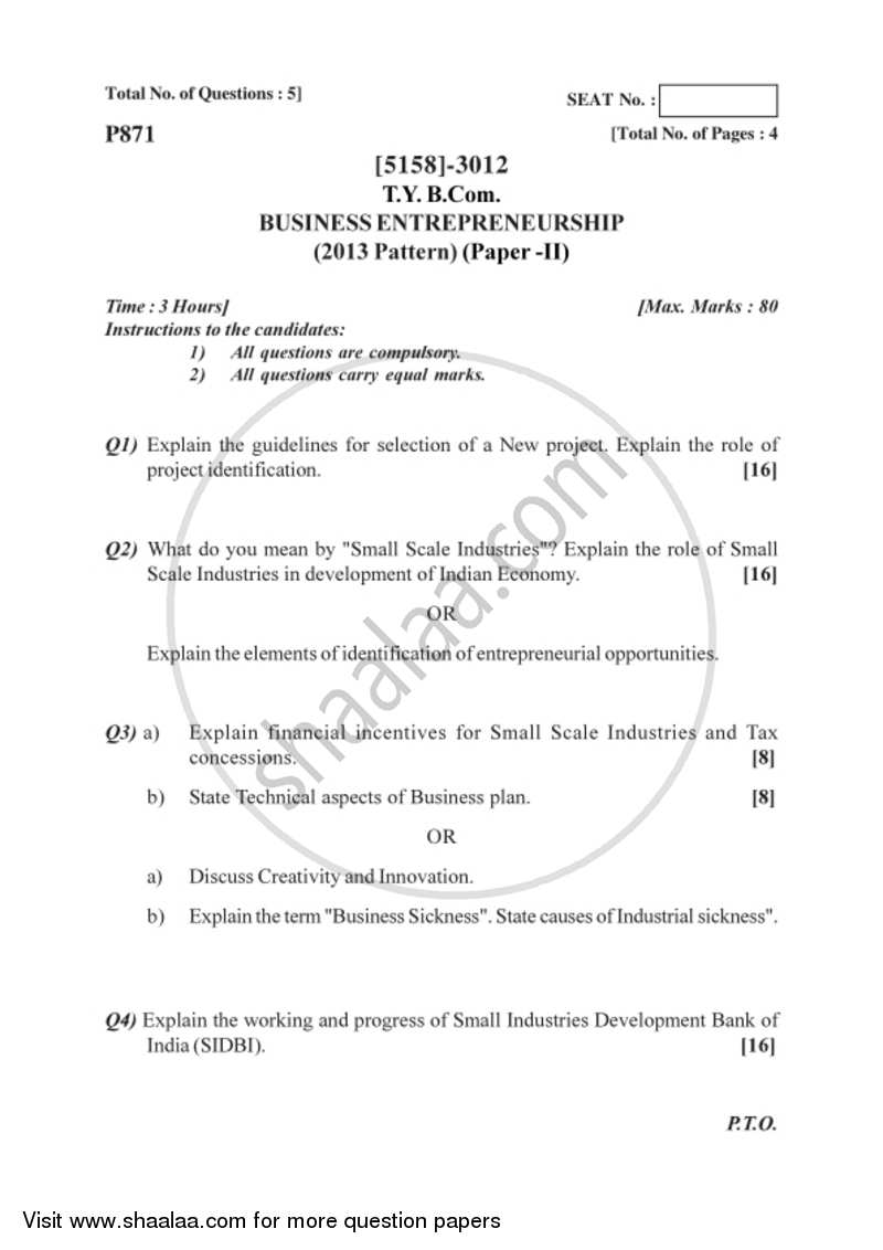 new business plans in pune university