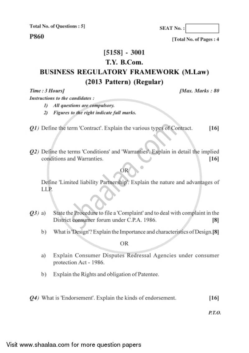 Business law notes for bcom pdf writer