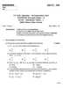 Distribution Theory 1 2012-2013 - B.Sc. - Semester 5 (TYBSc) - University of Pune question paper with PDF download