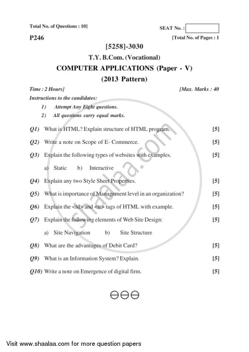 Surprising Computer Applications 5 2017 2018 Bachelor Of Commerce Interior Design Ideas Pimpapslepicentreinfo